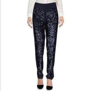 Pants - NWT Patrizia Pepe casual pants with sequins